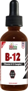 Vitamin B-12 Complex Liquid Drops Highly Recommended for Vegans