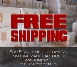 LAX Ammo's Online Ammunition Store Boasts one of the Nation's Largest Ammo Selections