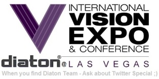 Unique tonometry through Eyelid with Diaton tonometer Featured at the International Vision Expo West, Las Vegas
