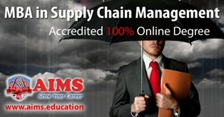 MBA in Supply Chain Management from AIMS is Becoming Widely chosen OnlineDegreeProgram