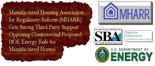 George Washington University, SBA Blast Proposed DOE Energy Rule for Manufactured Homes