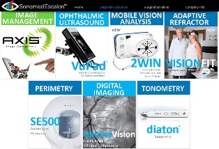 Sonomed Escalon® to Present a Range of Eye Diagnostic and Ultrasound Solutions