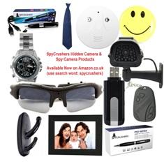 SpyCrushers Announces Spy Camera Sale On Amazon UK